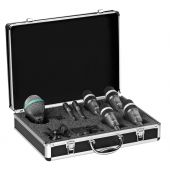 AKG Drumset Concert 1 - Professional Drum Microphone Package