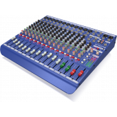 Midas DM16 16-Channel Analog Mixer with Microphone Preamplifier