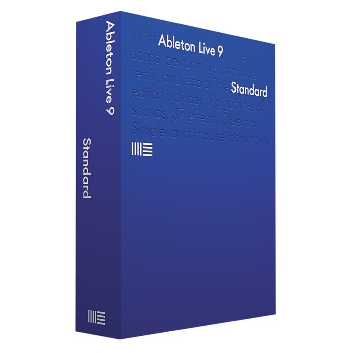 Ableton Live 9 Standard - Music Production Software