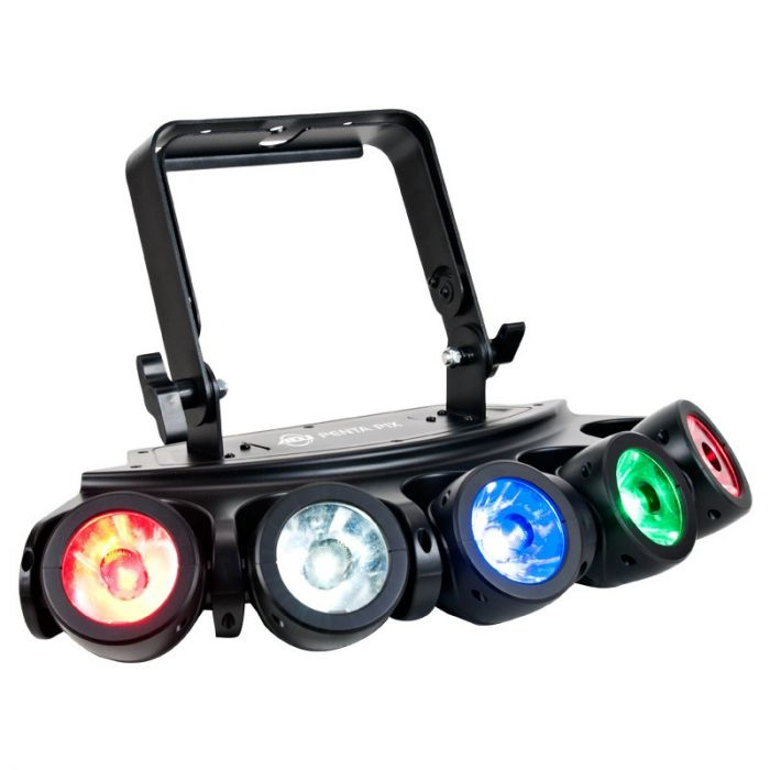 American DJ Penta Pix - 15W RGBW LED 5-head beam effect
