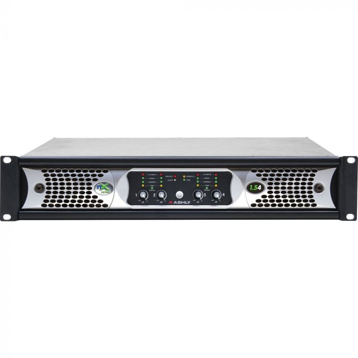 Ashly nX1.54- 1250W 4-Channel Power Amplifier