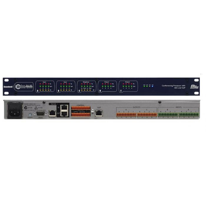 BSS BLU-103 - Conferencing Processor with AEC and VoIP