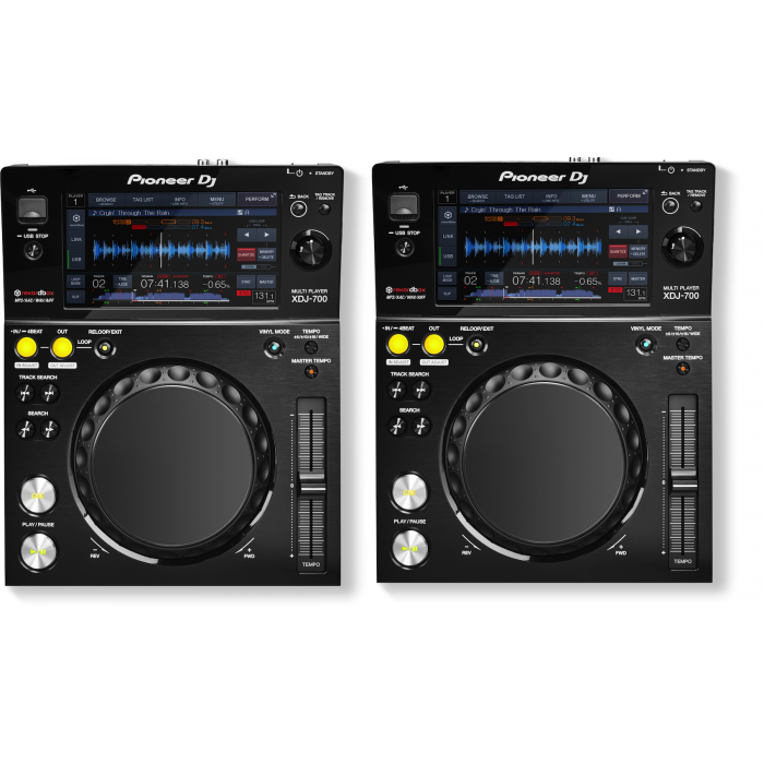 Pioneer XDJ-700 - Double Pack Set