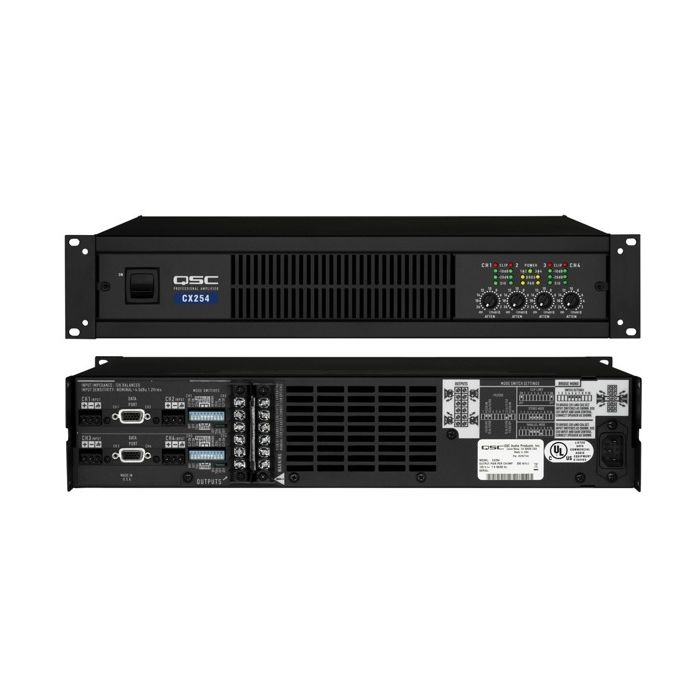 QSC CX404 250W 4-Channel Power Amplifier