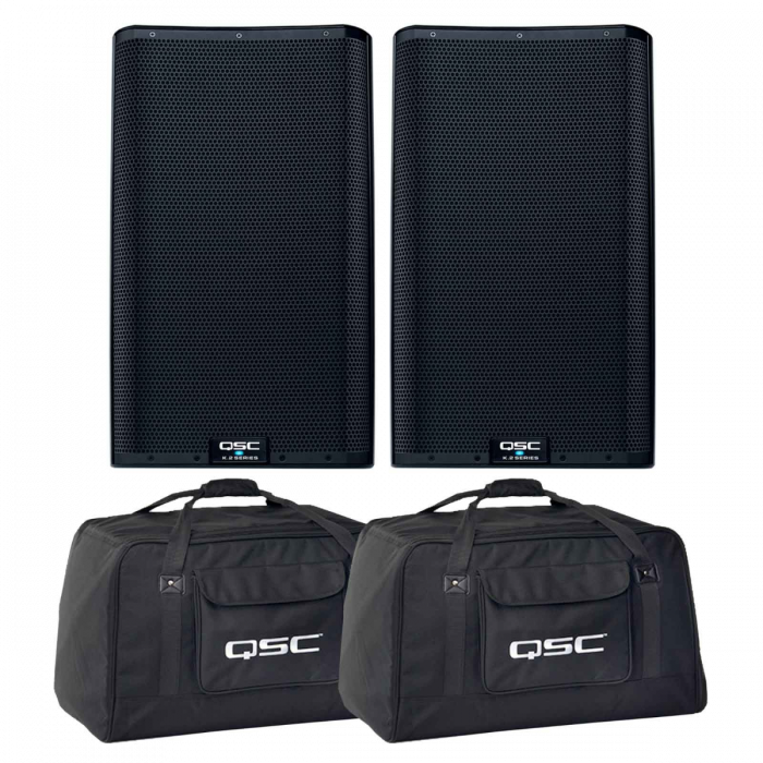 QSC K12.2 - Double Pack with Tote Bags