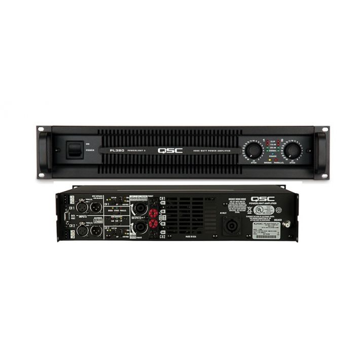 QSC PL380 1500W Professional Power Amplifier