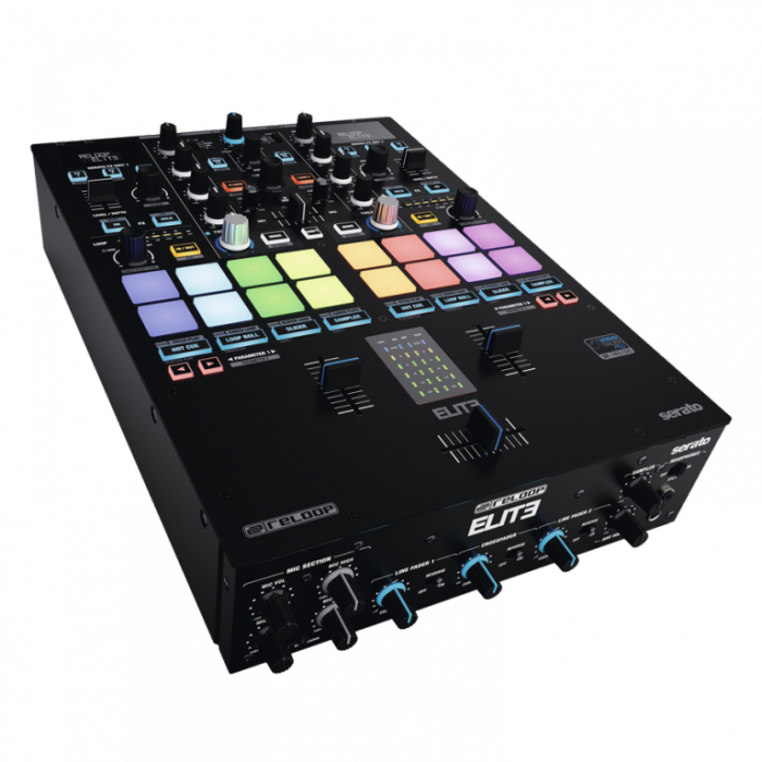 Reloop ELITE - 2-Channel DVS Mixer for Serato