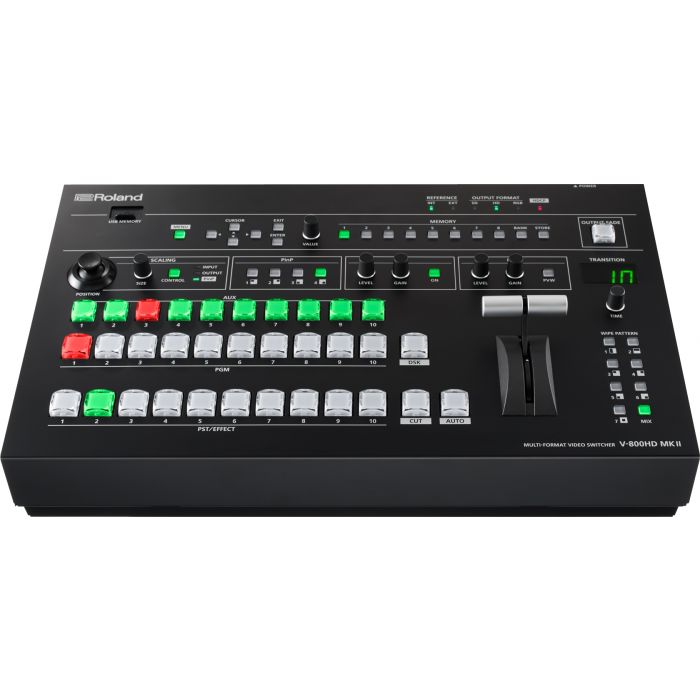 Roland V-800HD MKII - Professional Multi-Format Video Switcher