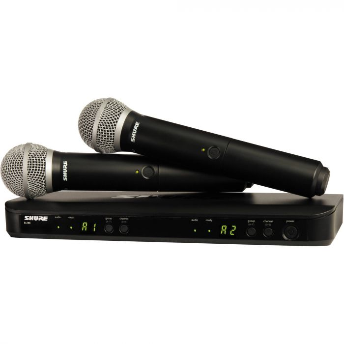 Shure BLX288/PG58 - Dual Channel Handheld Wireless System