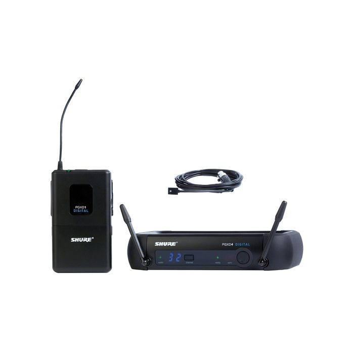 Shure PGXD14/93 Digital Wireless System with WL93 Lavalier Microphone