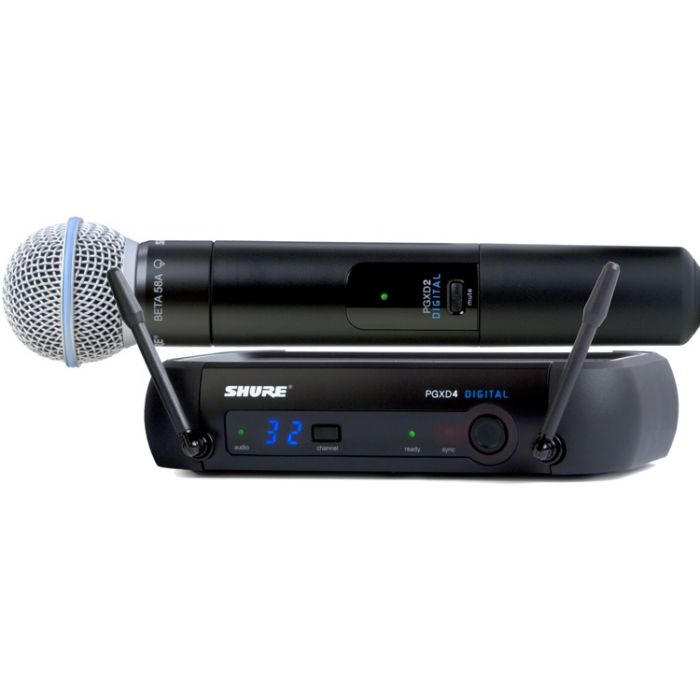 Shure PGXD24/BETA58A - Handheld Wireless System