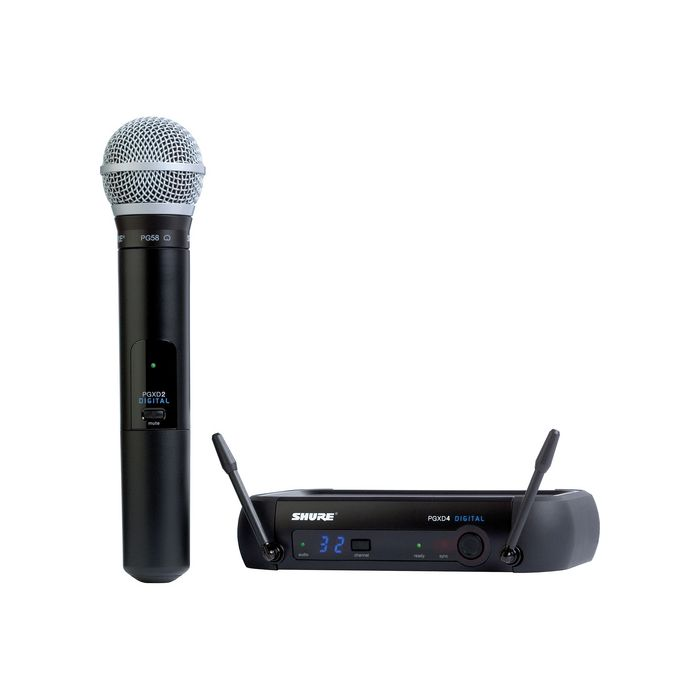 Shure PGXD24/PG58 Digital Wireless System with PG58 Microphone