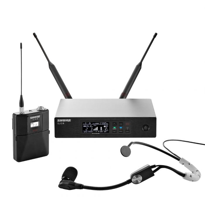 Shure QLXD14/SM35 - Digital Headworn Wireless Microphone System