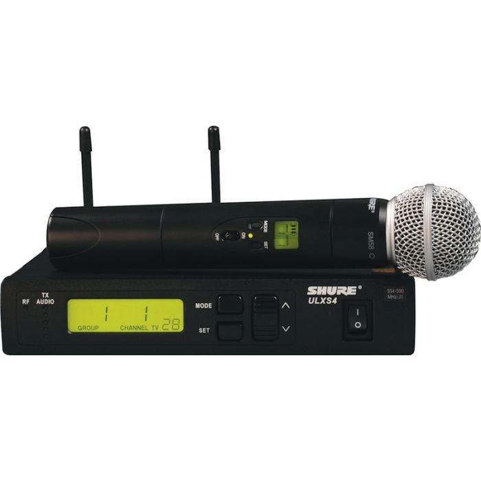 Shure ULXS24/58 Wireless System With SM58 Handheld