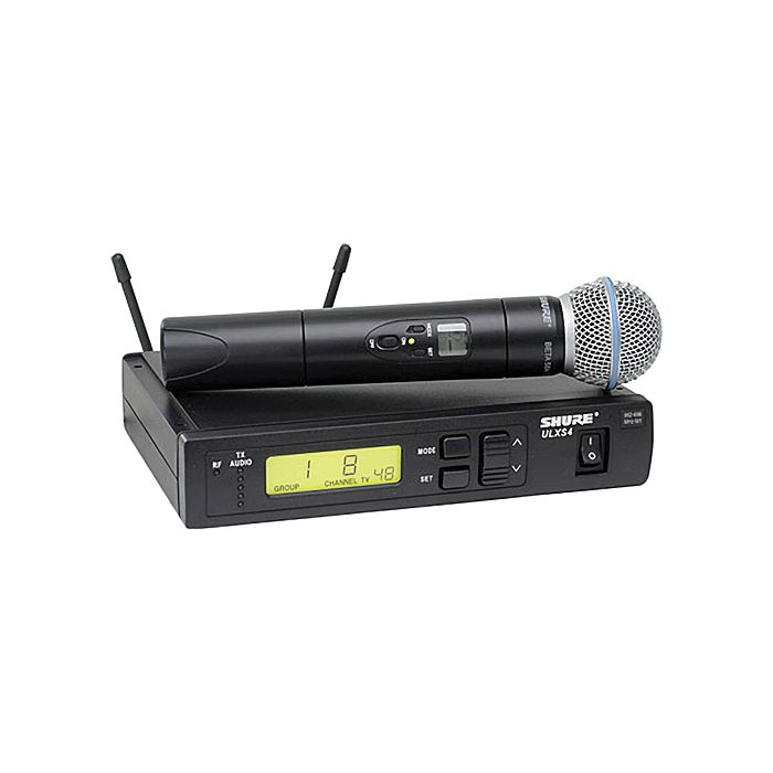 Shure ULXS24/BETA58 Wireless System With BETA 58A Handheld