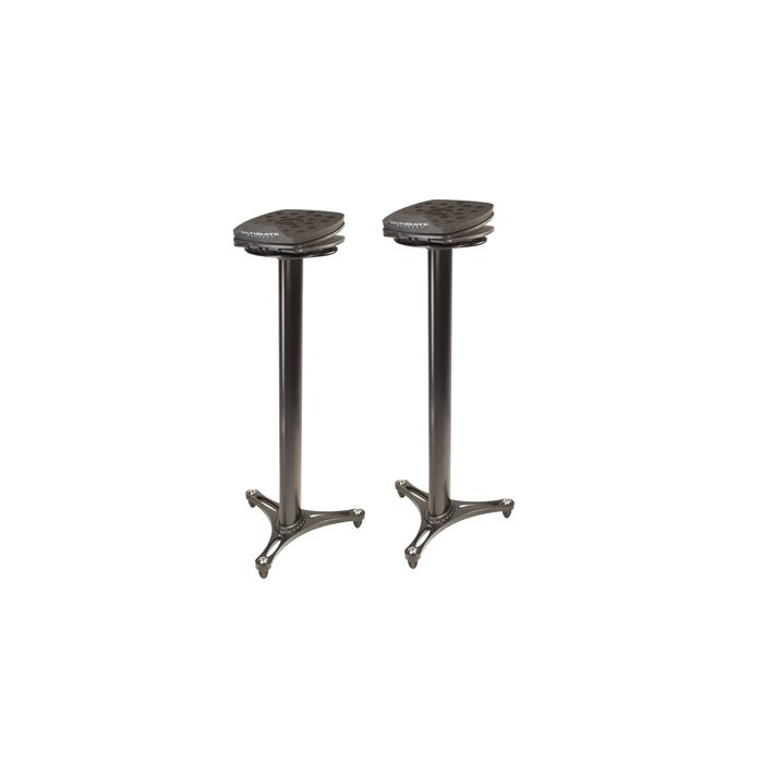 Ultimate Support MS-100B - Column Studio Monitor Stand (Pair)