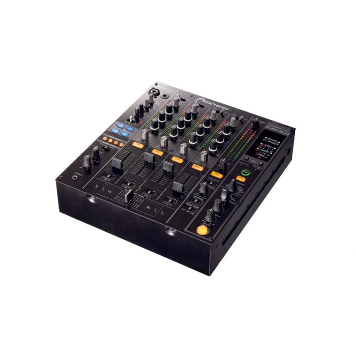 Pioneer DJM-800 4-Channel Professional DJ Mixer with DSP And Effects