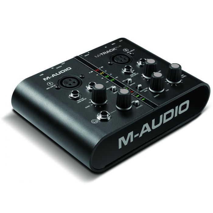 M-Audio M-Track Plus - 2 x 2 USB Audio Interface